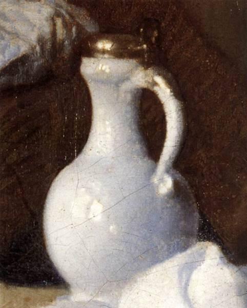 Vermeer A Lady and Two Gentlemen detail3